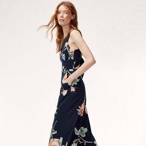 Aritzia Summer Floral Jumpsuit